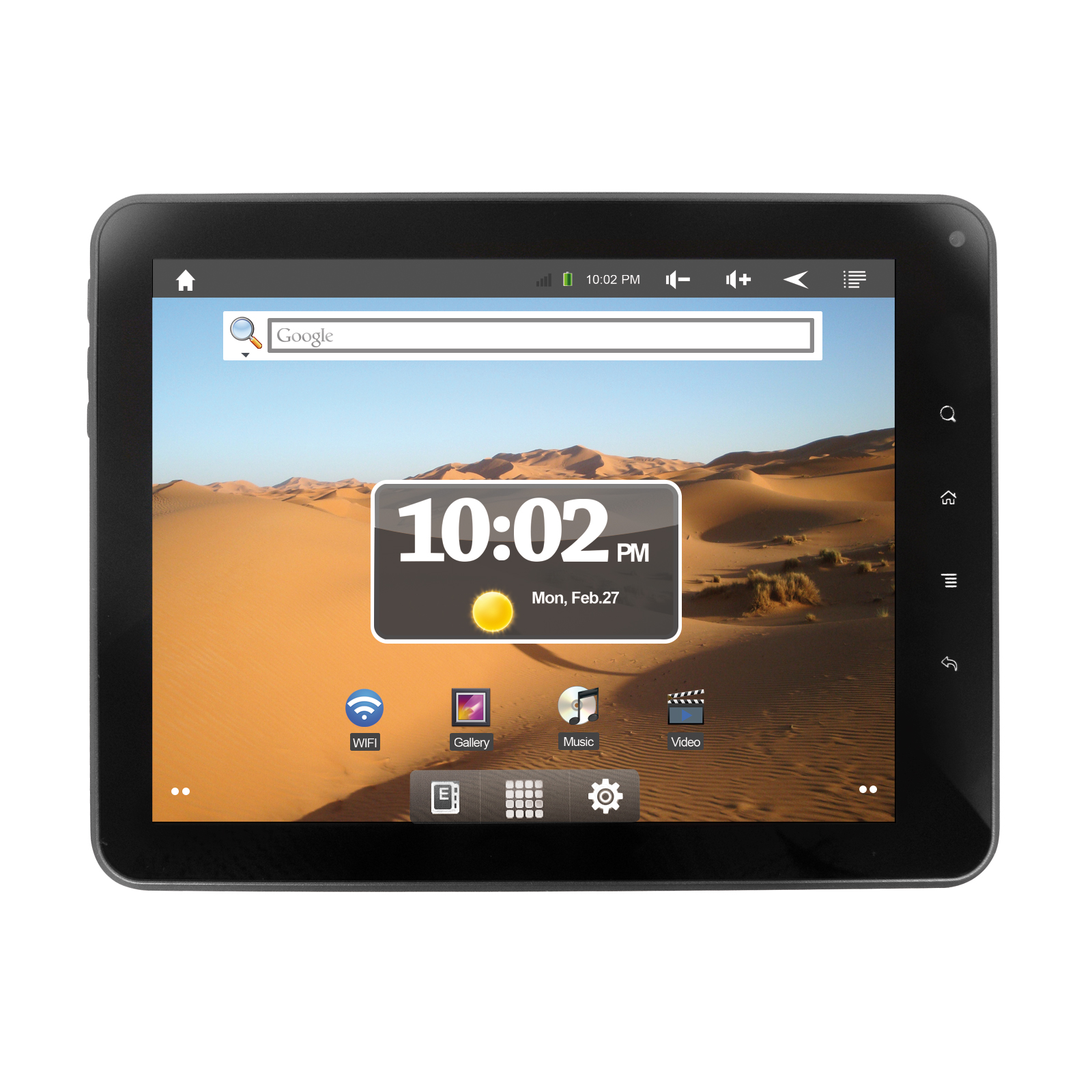 tablet pc dit8000 4gb android 2 3 20 32cm 8 zoll. Black Bedroom Furniture Sets. Home Design Ideas