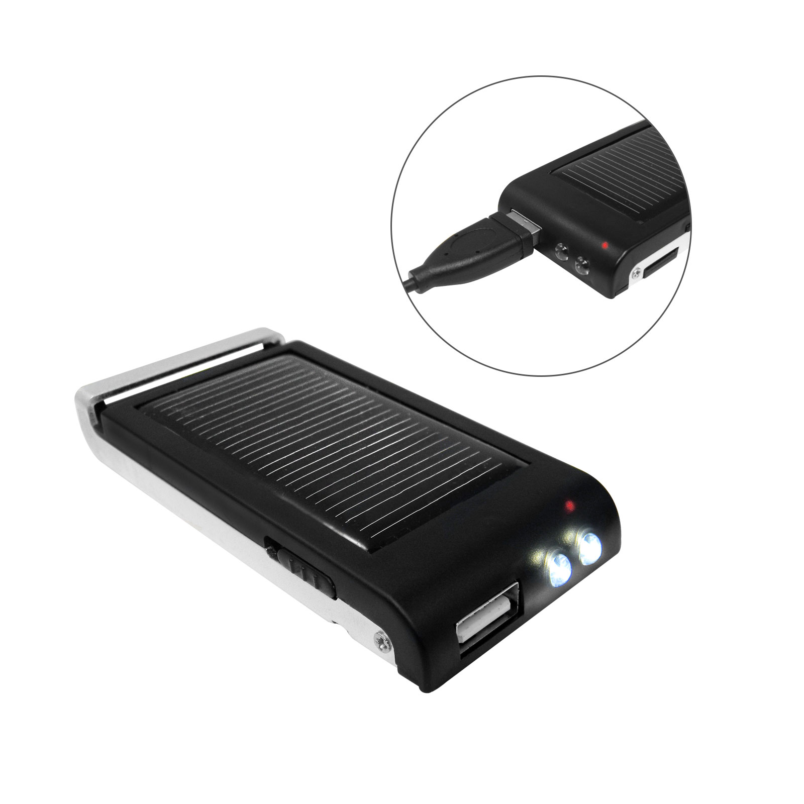 solarladeger t mit usb microusb powerbank mit. Black Bedroom Furniture Sets. Home Design Ideas