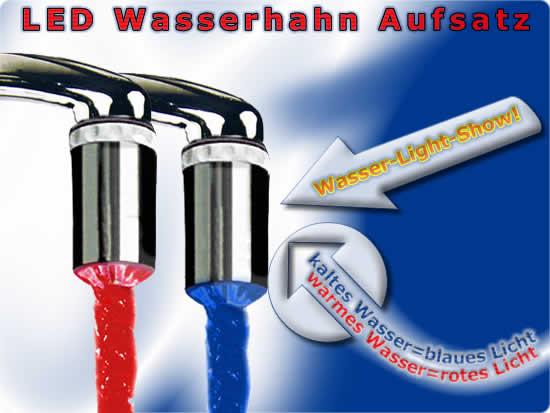 HIGHLIGHT LED Wasserhahn Aufsatz von EAXUS Trade4Less ~ Wasserhahn Led