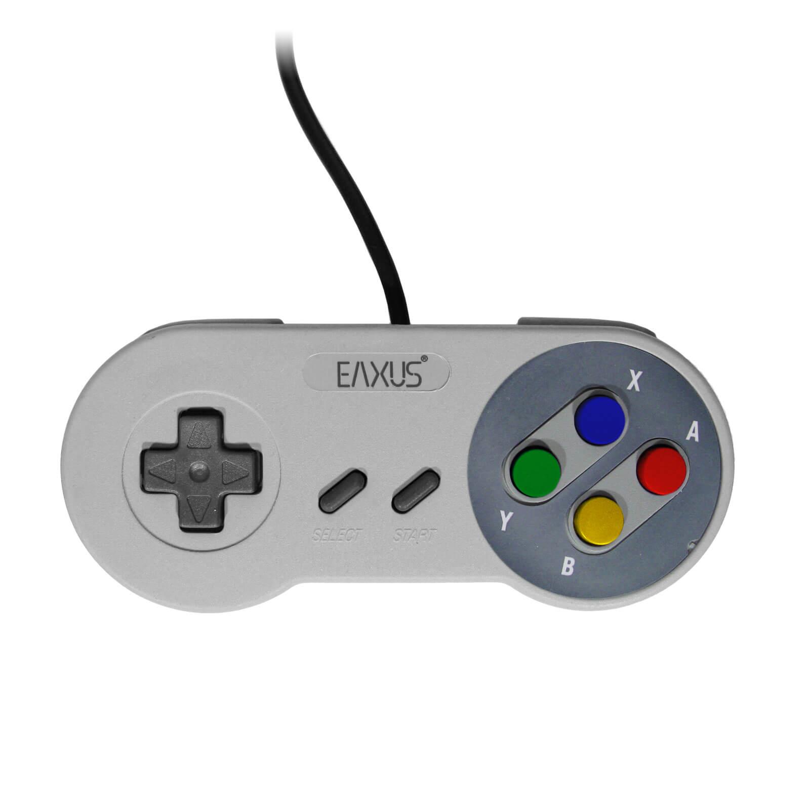 NIN SNES / Super<br> Nintendo<br>Controller EAXUS