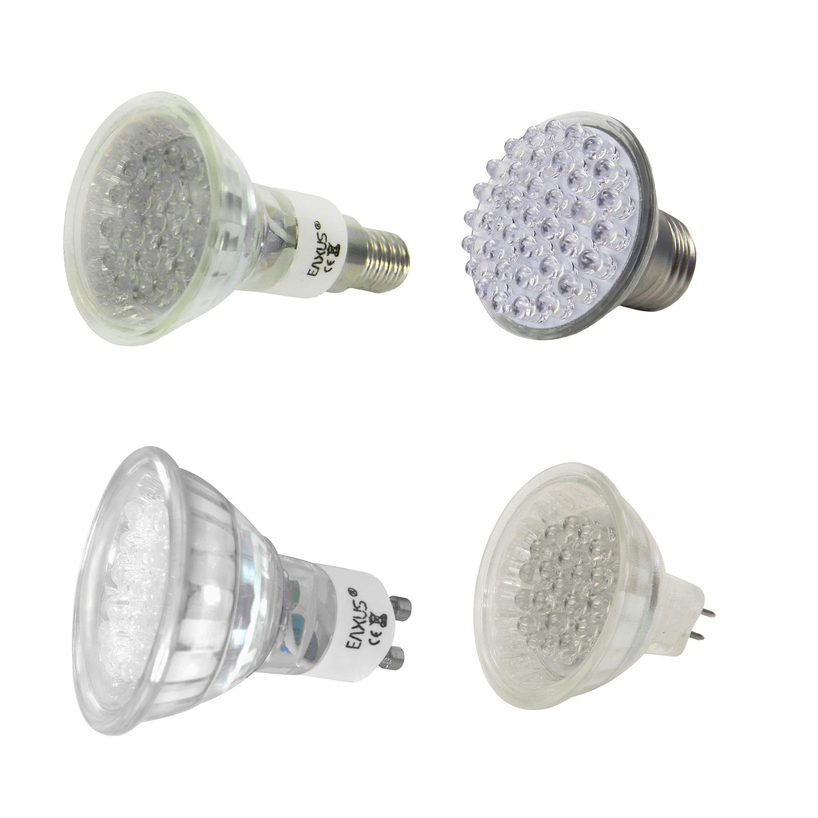 EAXUS-Spots-Strahler-Lampen-mit-20-LEDs-warmweiss-hellweiss-NEU-OVP