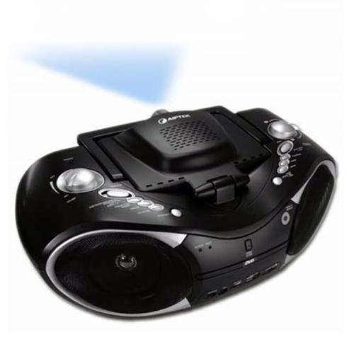 Portabler beamer mit integriertem dvd player cd player for Unterschrank radio mit cd