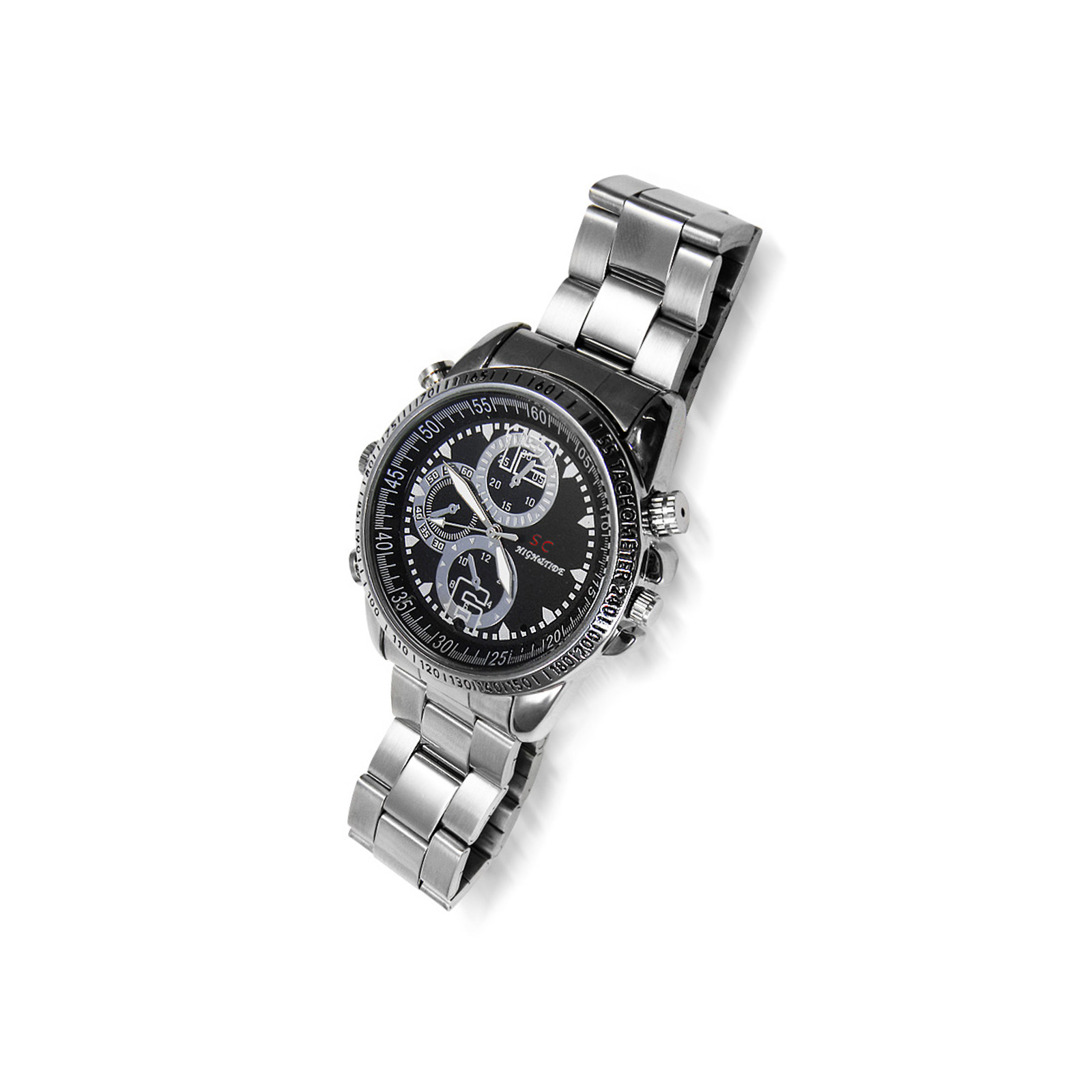 Wristwatch with an<br> integrated camera / ...