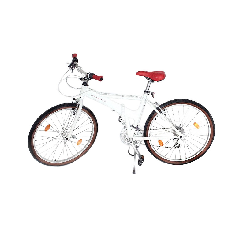 designer fahrrad klapprad citybike 66 04 cm 26 zoll in weiss von pininfarina ebay. Black Bedroom Furniture Sets. Home Design Ideas