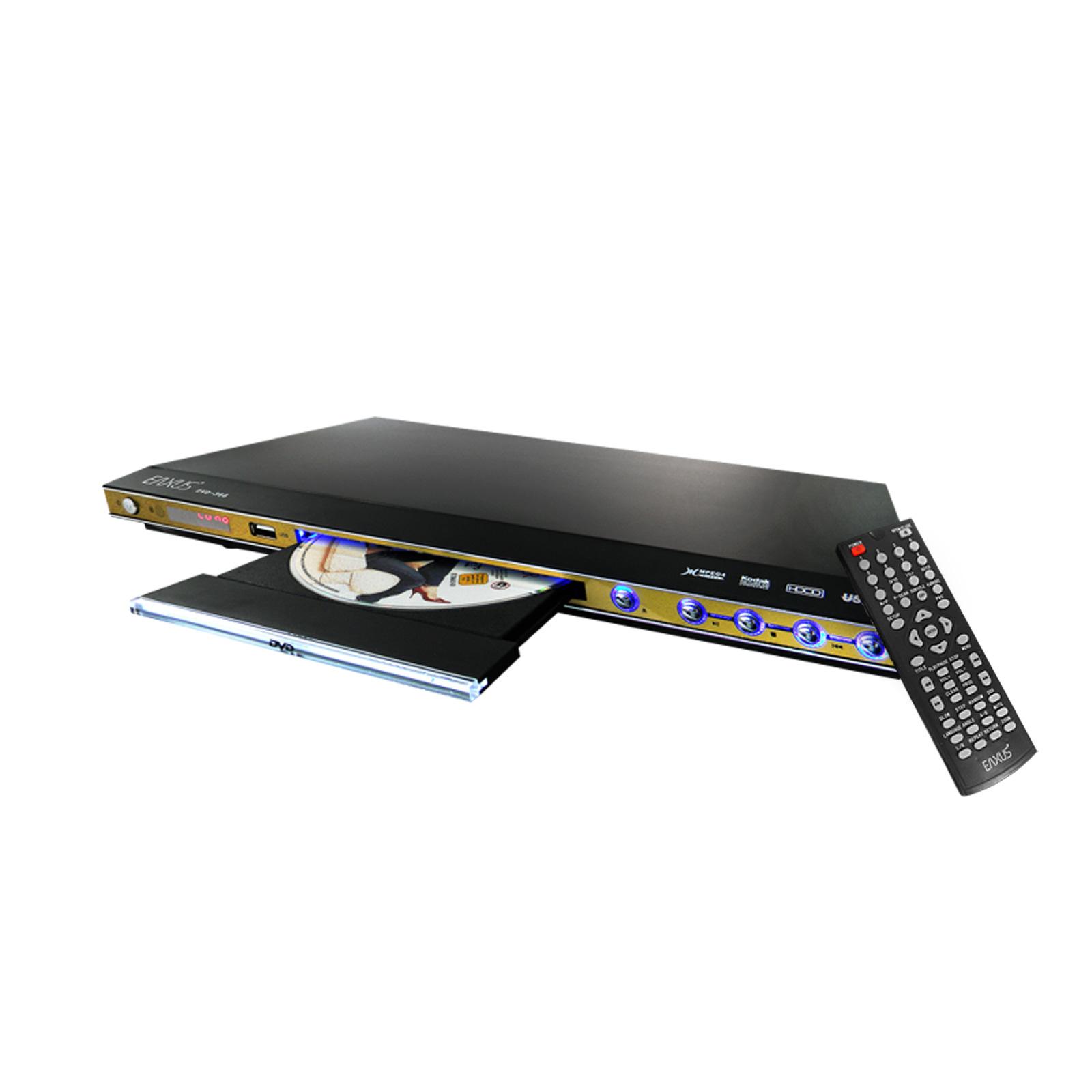 eaxus dvd spieler mit usb anschluss dvd player mit dolby. Black Bedroom Furniture Sets. Home Design Ideas