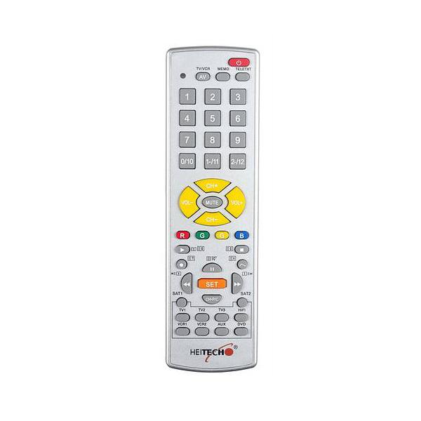Heitech IR<br> universal remote<br> control 10-in-1 ...