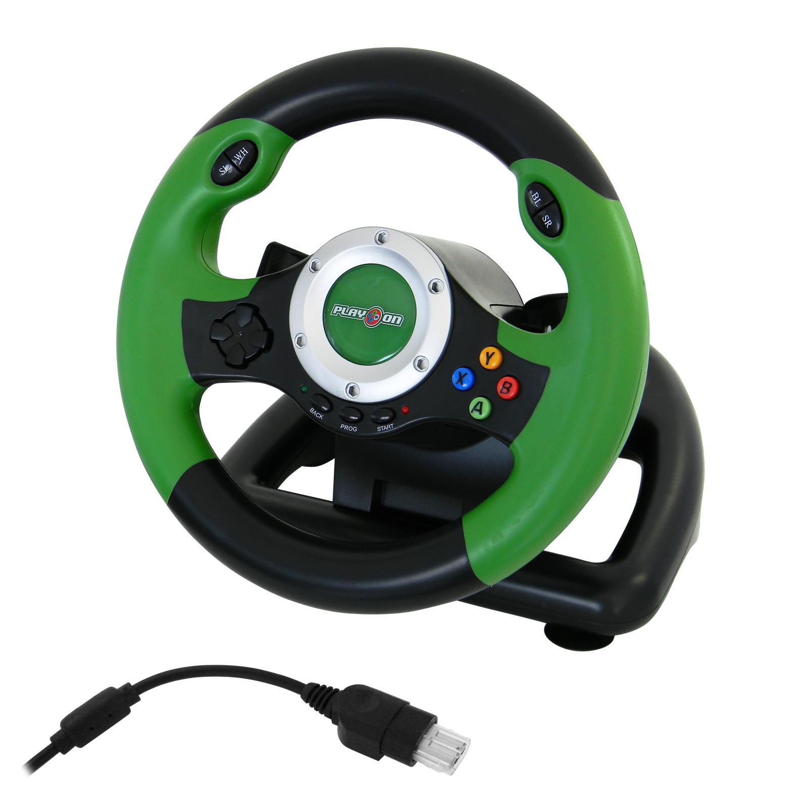 v8 lenkrad steering wheel fu pedal mit vibration f r. Black Bedroom Furniture Sets. Home Design Ideas