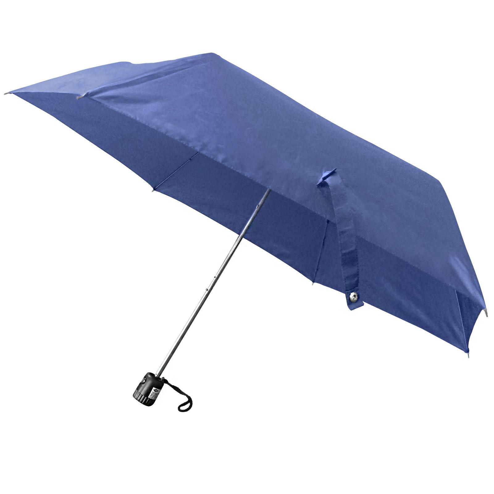 wedo wedo taschenschirm rainlight blau 2545003 ebay. Black Bedroom Furniture Sets. Home Design Ideas