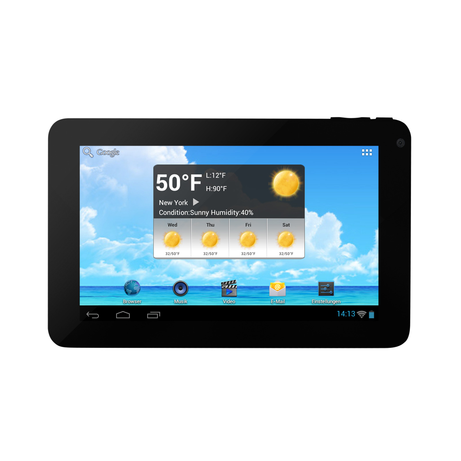 DIT7010 Internet<br> Tablet, Android<br>4.0, 4GB Speicher