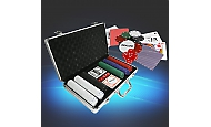 Edles Pokerset im Alukoffer / Pokerkoffer Royal Flush, 300 Chips Eaxus