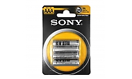 Sony Batterie AAA 4x Micro, R03, 1,5V Zink-Kohle, Retail Blister