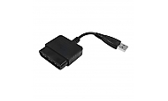 Playstation zu PC und PS3 USB Single Adapter, Konverter (bulk), Eaxus