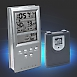 Wireless Funk Wetterstation W054RF Uhr, Hygro- Thermometer, digital ohne Verp.
