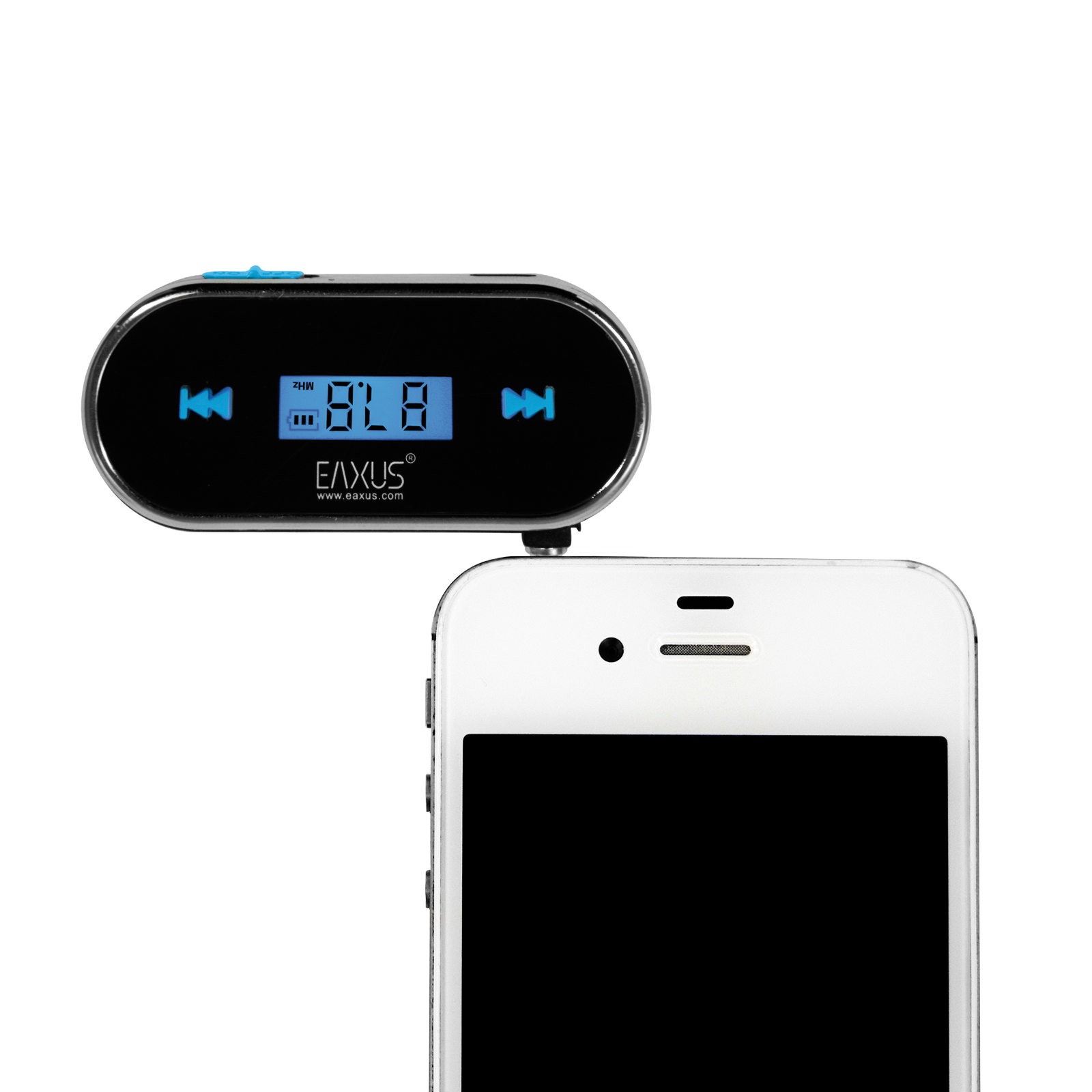 fm transmitter radioger t f r iphone 4 4s 5 5c 5s 6 6. Black Bedroom Furniture Sets. Home Design Ideas