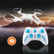 Quadrocopter 2,4 GHz m. 6 Achsen Gyro, Drohne S-Eye RC106 m. Kamera Madrics