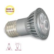 E27 Spot / Strahler mit 3 warmweißen LEDs und 4 Watt, XQ-lite