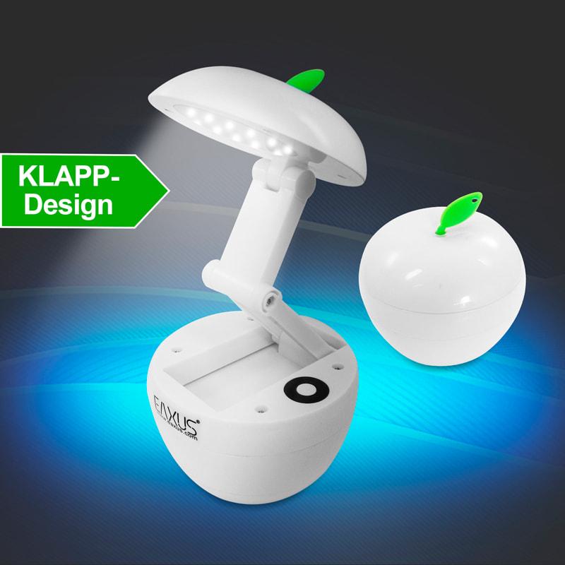 Ausklappbare SMD LED Lampe im Apfeldesign, Apple Light ...