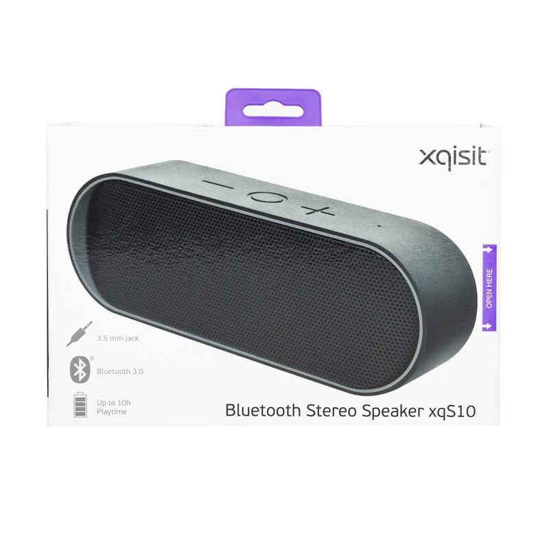 bluetooth lautsprecher box xqs10 mit subwoofer und 6 watt. Black Bedroom Furniture Sets. Home Design Ideas