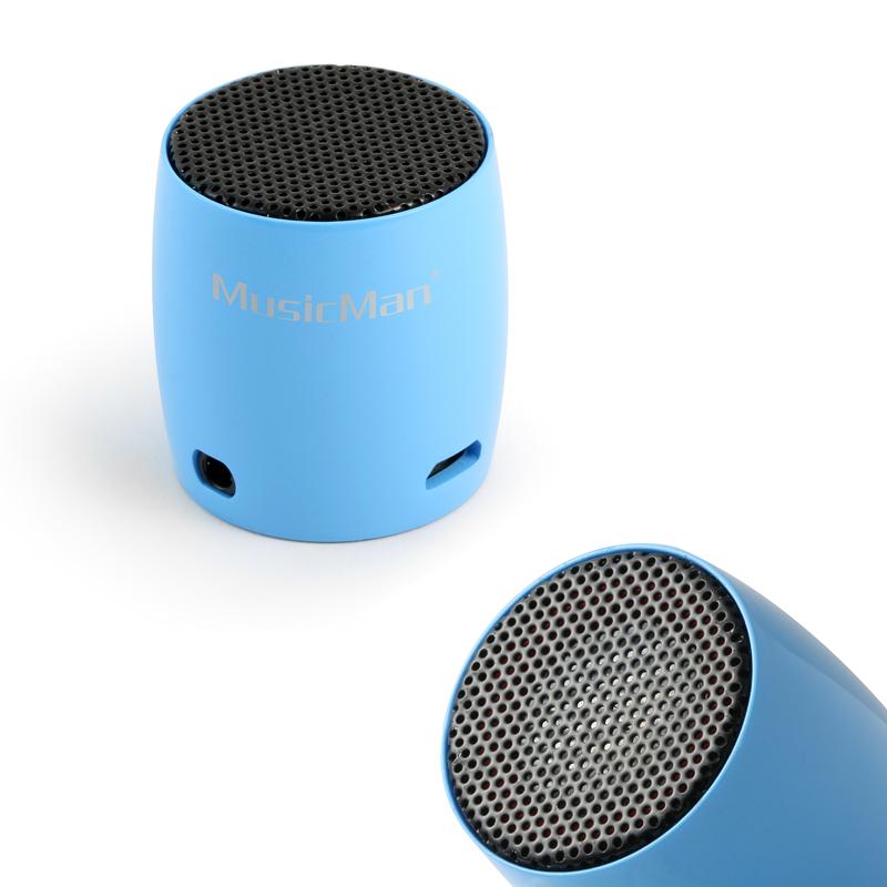 nano bluetooth lautsprecher 2w schwarz blau pink. Black Bedroom Furniture Sets. Home Design Ideas