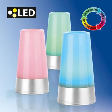 2er set led lampe stimmungslicht farbwechsel 7 farben living colors licht eaxus. Black Bedroom Furniture Sets. Home Design Ideas
