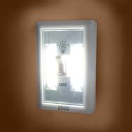 COB LED Wandlicht mit Schalter, Nachtbeleuchtung mit Haken und Magnet Eaxus