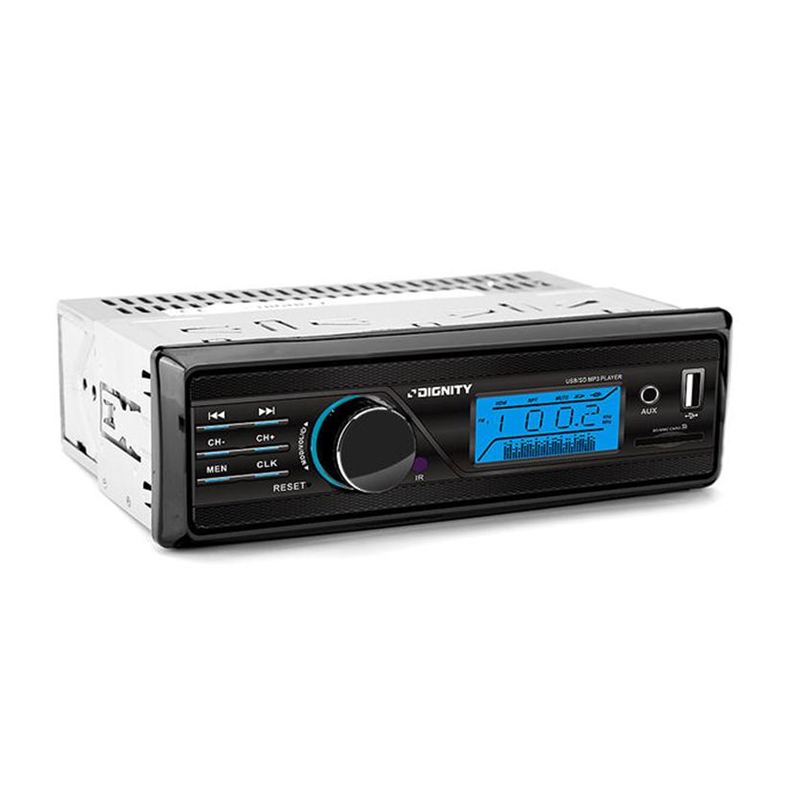 autoradio ht 165s mit aux usb sd eingang 2x50 watt lcd display vordon trade4less. Black Bedroom Furniture Sets. Home Design Ideas