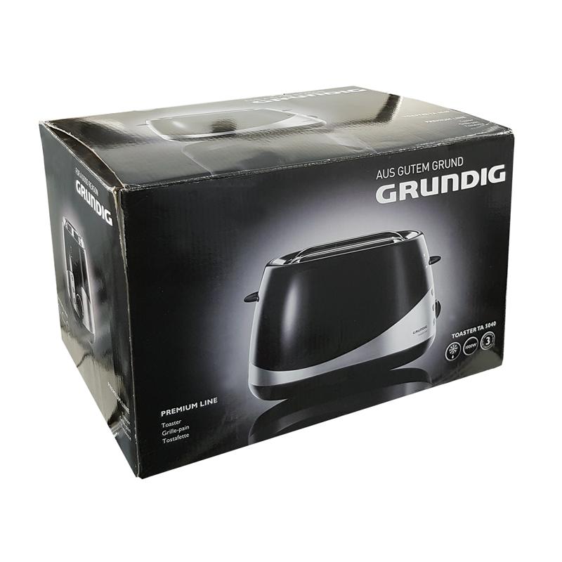 grundig premium toaster ta 5040 1000w beleuchtet auftaufunktion uk stecker. Black Bedroom Furniture Sets. Home Design Ideas