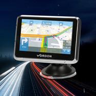 "GPS Navigationssystem 11cm (4,5""), 8GB, 3D, EU Karten, FM, AV-Input Vordon"