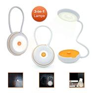 LED Schreibtischleuchte Touch, dimmbare Nacht- u. Taschenlampe Eaxus