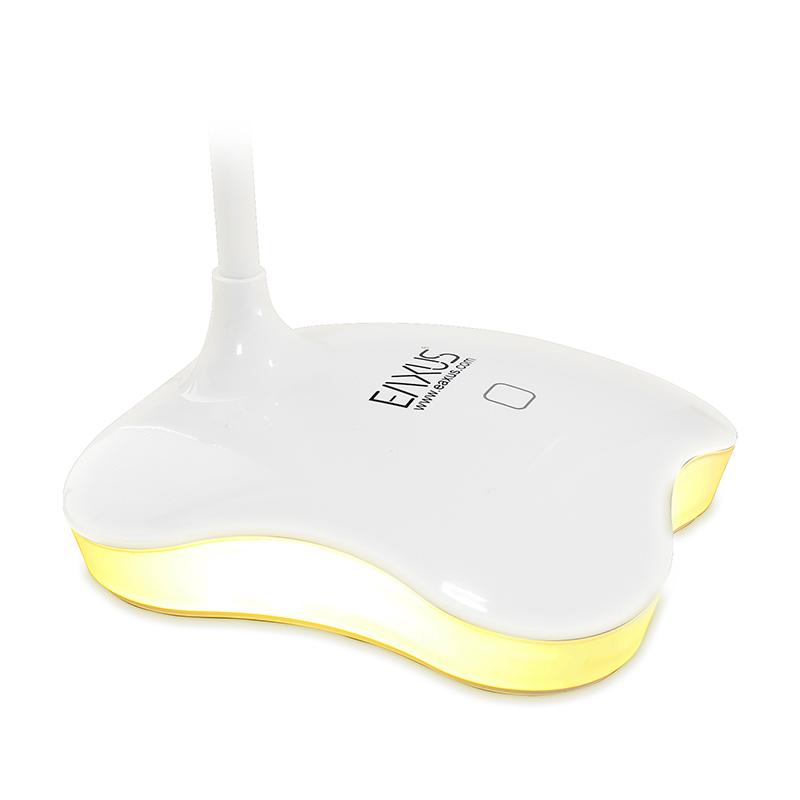 2in1 schreibtischlampe 14 smd led frei biegbar dimmbar mit nachtlicht eaxus. Black Bedroom Furniture Sets. Home Design Ideas