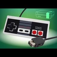 Retro Controller für NES Classic Mini Gaming Konsole kabelgebunden Eaxus
