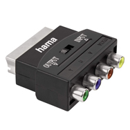 Hama Video Adapter, Scart / YUV und Video Cinch In Out für analoge Übertragung