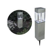 LED Solar-Weglampe mit Tageslichtsensor und Erdspieß, Alma Garden
