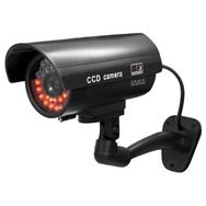Überwachungskamera Attrappe mit Gelenk, realitischer Dummy mit Verkabelung Eaxus