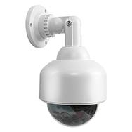 CCTV Überwachungskamera Attrappe abschreckender Security Cam Dummy mit LED Eaxus