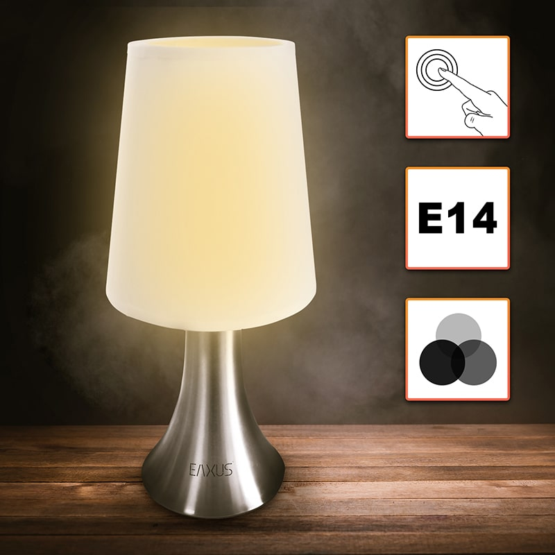 touch activated lamp touch lampe dine ideer for livet er vdhpvdr hlzerne wecker mit led touch. Black Bedroom Furniture Sets. Home Design Ideas