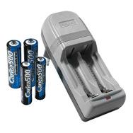 Akku Ladegerät Carica 500, inkl. AA und AAA Batterien Beghelli