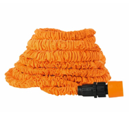 Flexibler Wasserschlauch 15m orange mit Expander-Effekt Magic Maxx