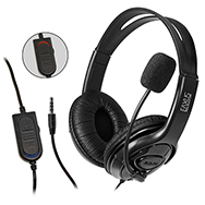 Stereo Gaming Headset for PS4 and Computer Wired with 3.5mm Jack Eaxus