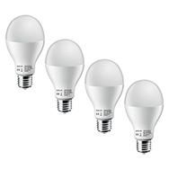 E27 LED Birnen 4er Pack Leuchtmittel mit EEK A+ und 13 W warmweiß Keja