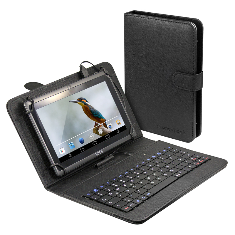 h lle f r 20cm 8 und 18cm 7 tablets mit qwertz tastatur smartbook. Black Bedroom Furniture Sets. Home Design Ideas
