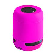 USB Bluetooth Lautsprecher, pink, wireless, mit Freisprechfunktion und SD-Slot
