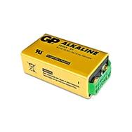 Extra starke Alkaine 9V Blockbatterie m. 0% Quecksilber, sehr langlebig