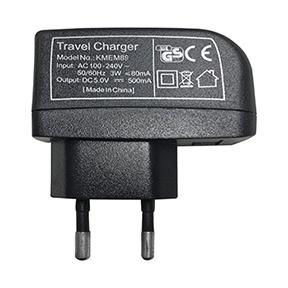 USB Netzteil für EU Steckdosen, 100-240V Input, 5V Output, kompakt