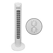 Turmventilator mit Timer und 3 Geschwindigkeitsleveln, 90° Oszillation, Eaxus