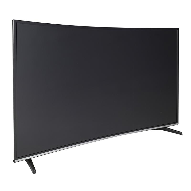 denver led 5573k uhd curved 4k fernseher 140cm 55. Black Bedroom Furniture Sets. Home Design Ideas