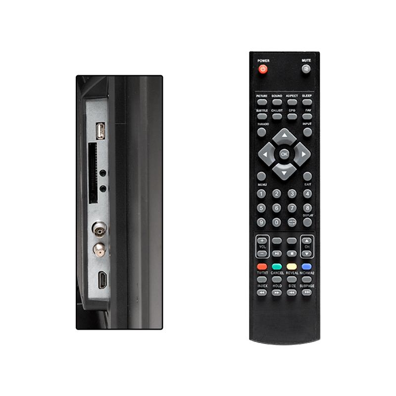 denver led 5573k uhd 4k tv fernseher curved 140cm 55. Black Bedroom Furniture Sets. Home Design Ideas