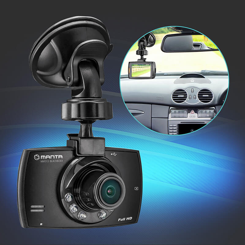 full hd dashcam mm313 mit bewegungserkennung und nachtmodus akku defekt manta. Black Bedroom Furniture Sets. Home Design Ideas
