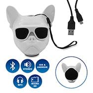Bulldog Bluetooth 4.1 Lautsprecher, wireless für Android und IOS, Eaxus