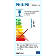 Philips Myliving Led Tischleuchte Geometry Rot Leuchten & Leuchtmittel